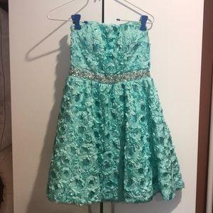 U Wish Dresses - Short mini semi dress